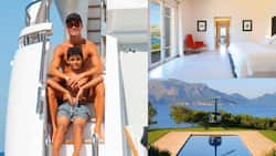Inside KSh 1.5 Million-A-Night Mansion Ronaldo and Family Are Spending Summer Holiday