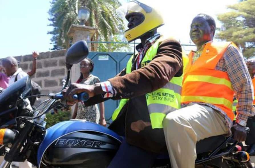 Raila sends strong warning to police, tells them to stop arresting probox, boda boda operators