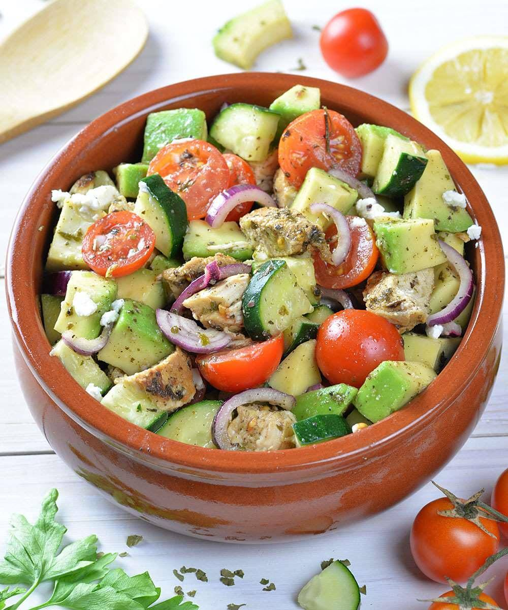 salad recipes with avocado