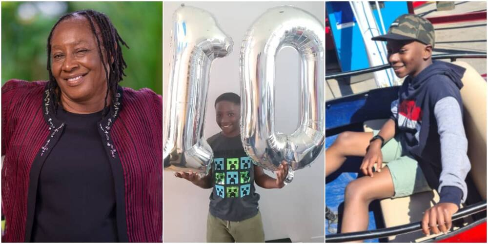 Patience Ozokwo's grandson celebrates his birthday