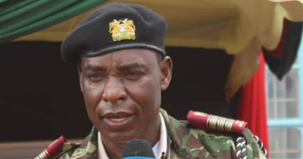 Central Regional Commissioner Wilfred Nyagwanga. Photo Samburu Herald.