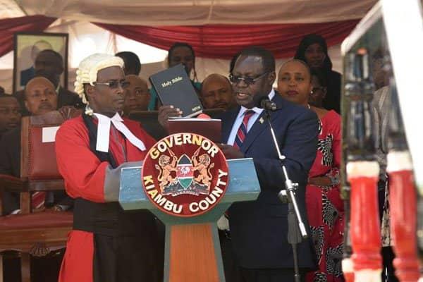 'Hornestly speaking': Mahakama yakataa kumruhusu Waititu kuzuia Gavana Nyoro kumteuwa naibu wake