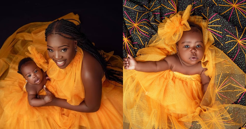 Ruth Matete, her beautiful princess appear in colourful mummy-daughter photoshoot