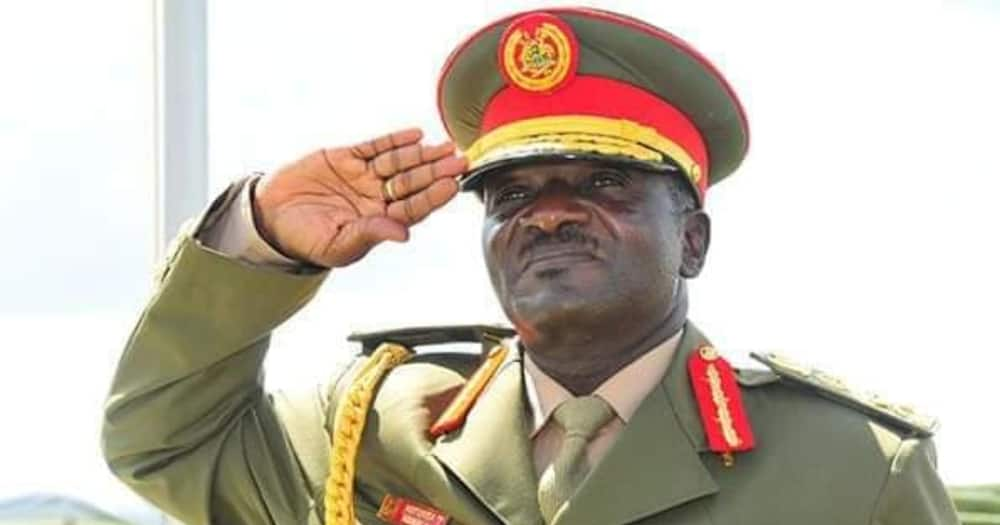 Ugandan General Katumba Wamala Thanks Museveni for Support, Says Still Fighting for Life