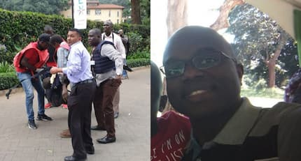 Kenyan man moves the internet after crying for help inside toilet during Riverside terror attack