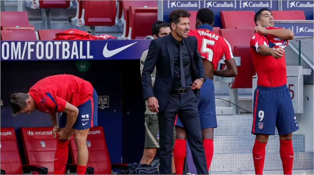 Atletico Madrid Manager Diego Simeone Fires Luis Suarez Warning to Chelsea