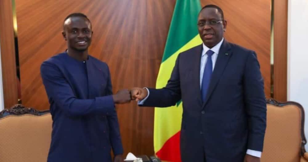 Mane meets with Senegal President