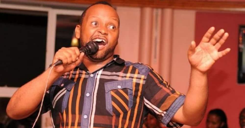 Kwata Kawaya hitmaker Mbuvi. Photo: Mbuvi.