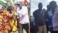 WIlliam Ruto makes abrupt stop over to buy roast maize