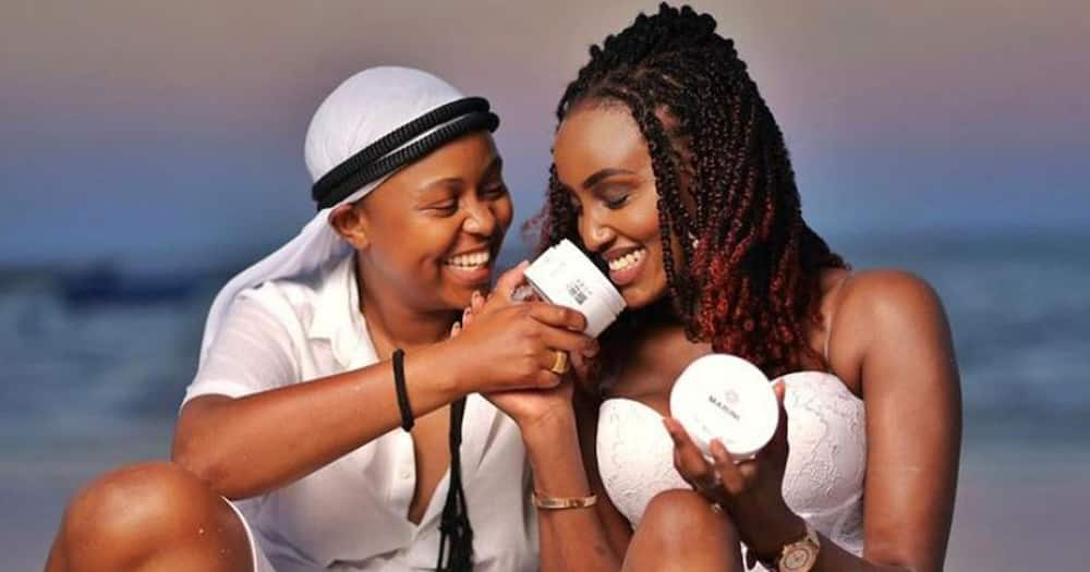 """Makena Njeri Thanks Michelle Ntalami for Backing Her up As She Lived Her Truth: """"I Celebrate You"""""""