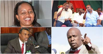 Uhuru confers presidential award to DCI boss George Kinoti and DPP Noordin Haji