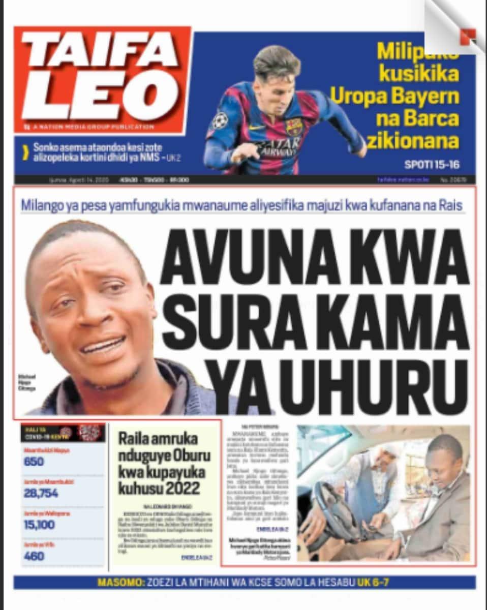 Magezeti Ijumaa: Maseneta wanaopinga mswada wa ugavi mapato wakamatiwa chini na serikali