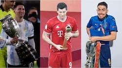 Top 10 Favourites to Win Ballon d'Or This Year as Ronaldo, Messi Eye Prize