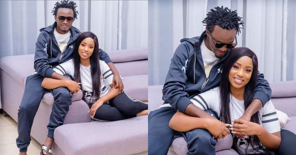 Bahati says Diana Marua once left with their baby, moved in with an ex-boyfriend