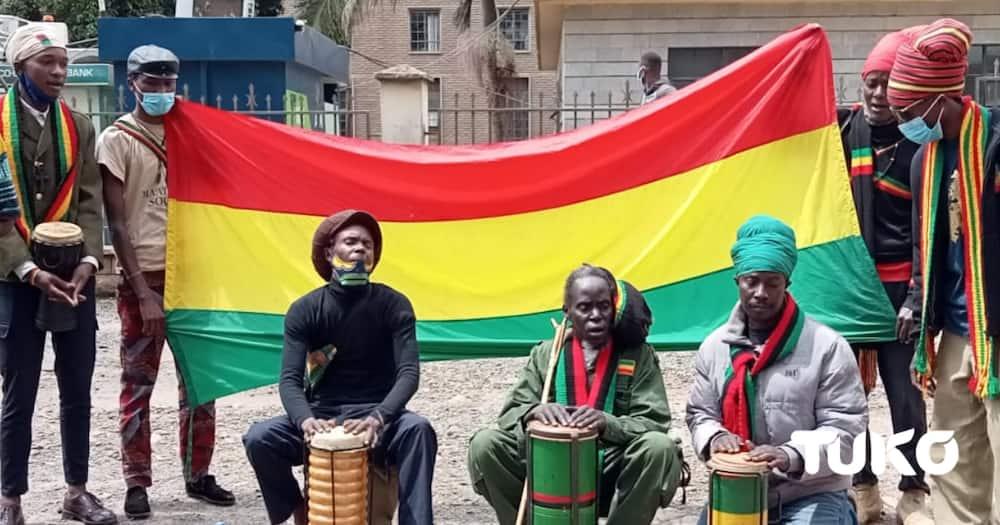 The society claimed the Rastafari Faith required spiritual growth and cannabis was connecting them to their creator. Photo: Zipporah Weru/TUKO.co.ke.