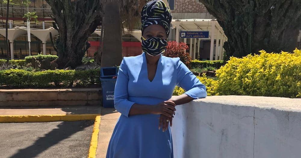 Roselyn jets back to Kenya, says she's happy to be home