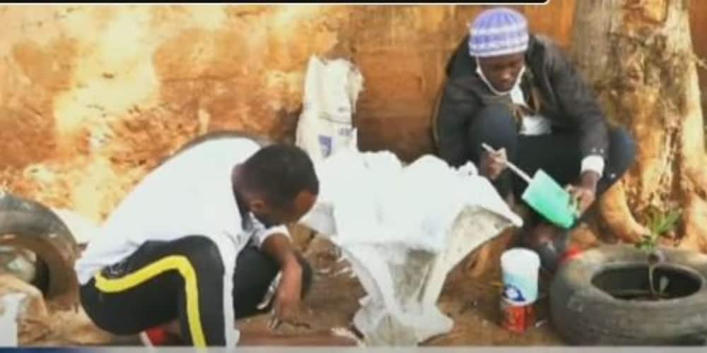 Hidden talents: Murang'a nursing students turn to art as source of income