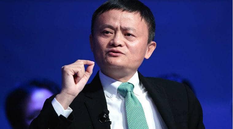 Chinese Billionaire Jack Ma in a past address. Photo: Jack Ma.