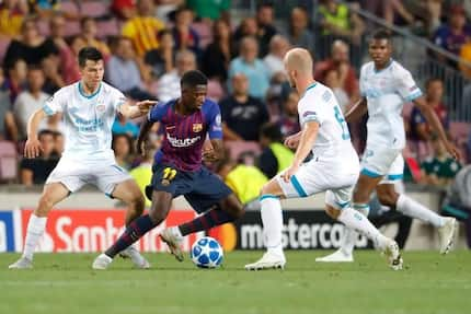 Liverpool ready to splash Champions League money on luring Ousmane Dembele