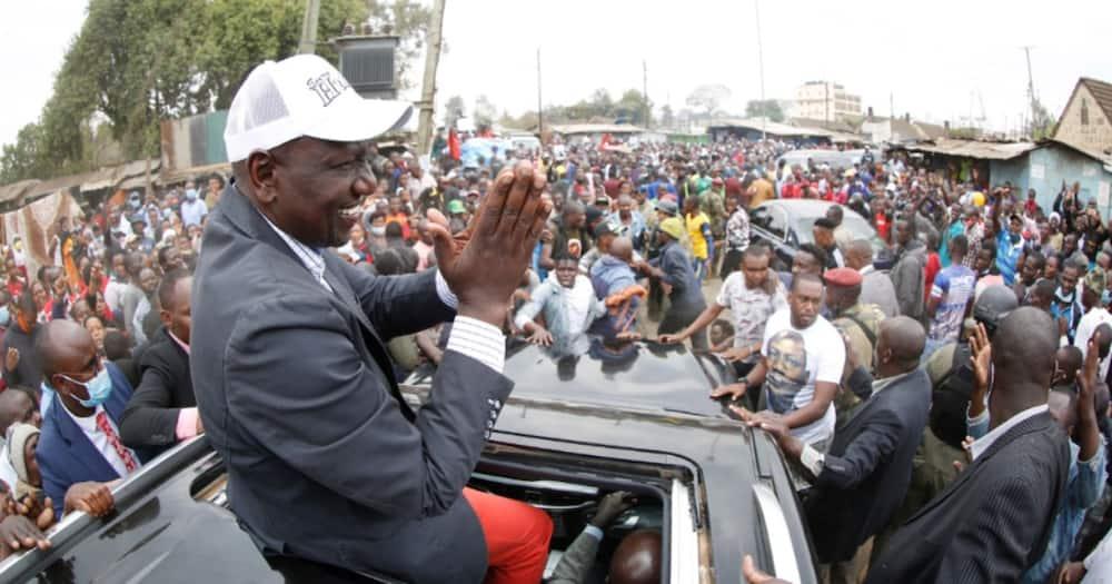 William Ruto over the moon as Raila Odinga joins the hustler debate