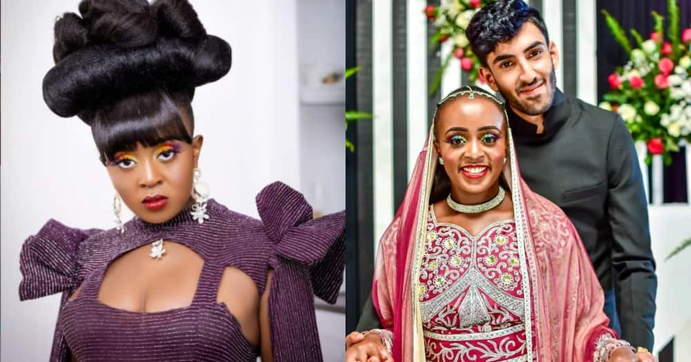 Nadia Mukami shows off Indian boyfriend, thanks him for not chasing after fame and fortune