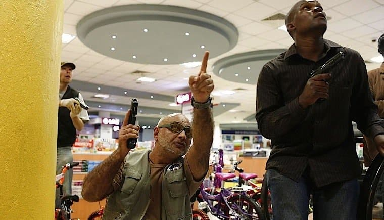 Private security guards in Kenya move closer to receiving guns