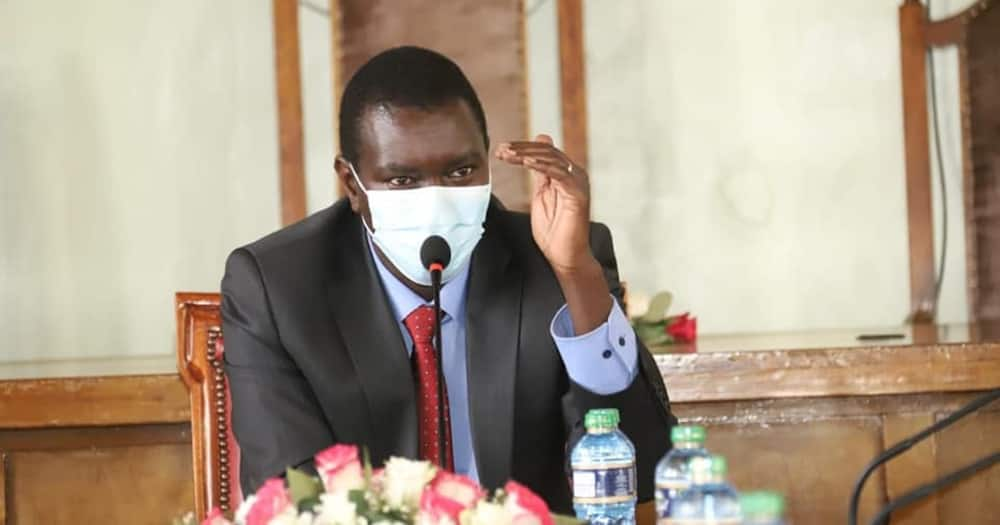 Uasin Gishu Governor Jackson Mandago Hints at Locking Down County
