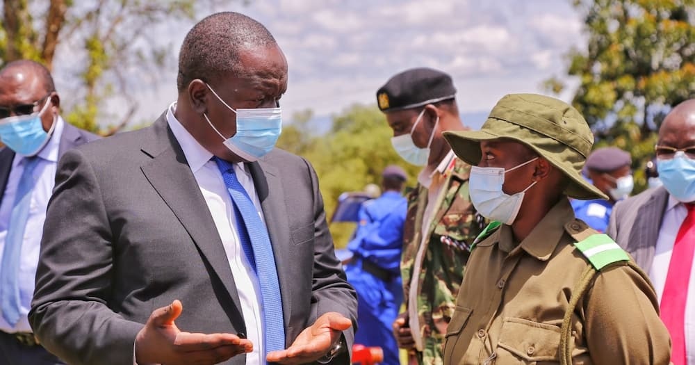 CS Matiang'i Says Marriages Between Police Officers Will be Prohibited to Curb Spousal Killings