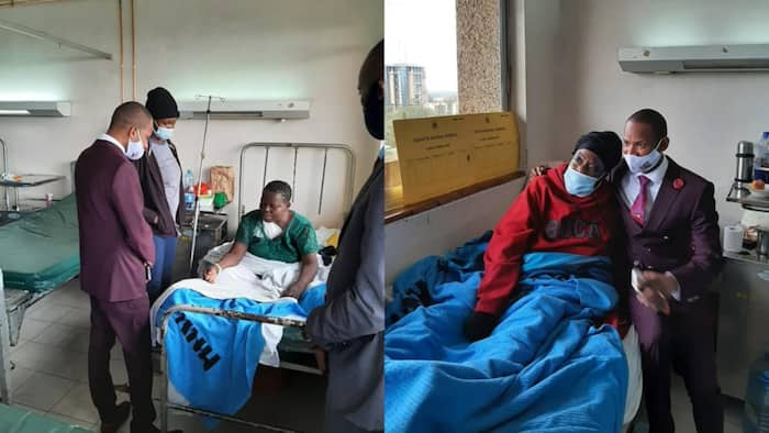 Babu Owino Visits Ailing Constituents Admitted to KNH, Helps Clear Their Medical Bills