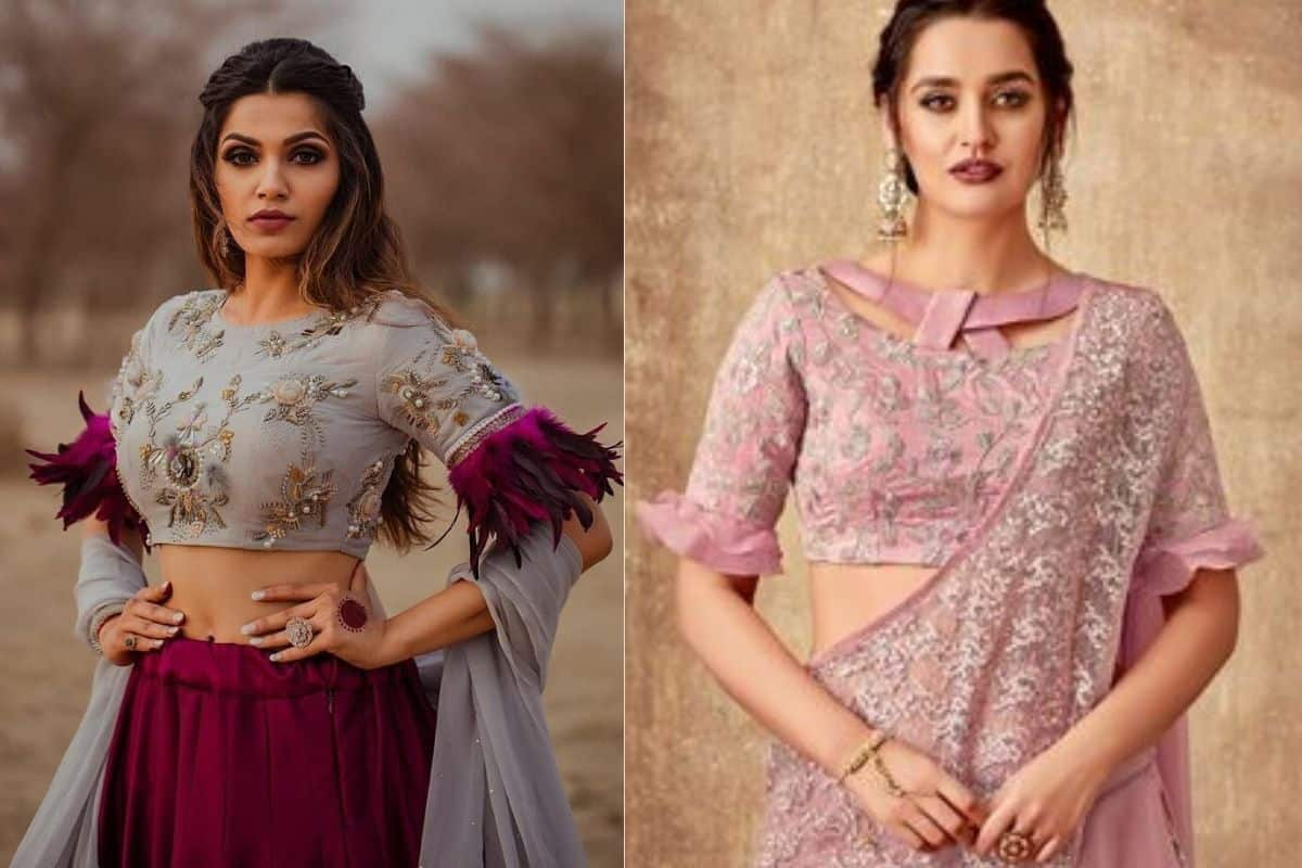 21 Trendy And Best Silk Saree Blouse Designs To Wear In 2020