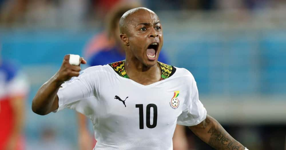 Black Star captain Andre Ayew set to join Qatari side Al Sadd in a big-money move