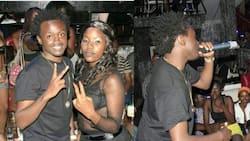 Picha za msanii Bahati akipiga shoo kwenye baa zaibuka