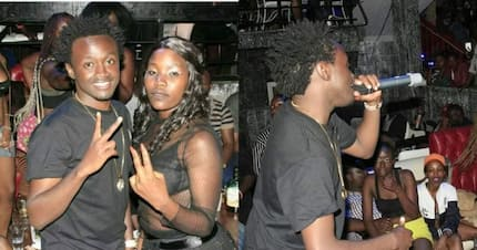 Mixed reactions as gospel singer Bahati is caught performing at a club