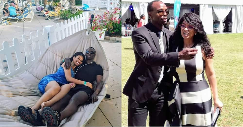 TV girl Julie Gichuru admits youthful looking husband is older than her
