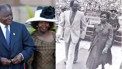 5 Years On: Kibaki's Grandson Showcases Love Ex-President Had for Wife Lucy in Timeless Photo