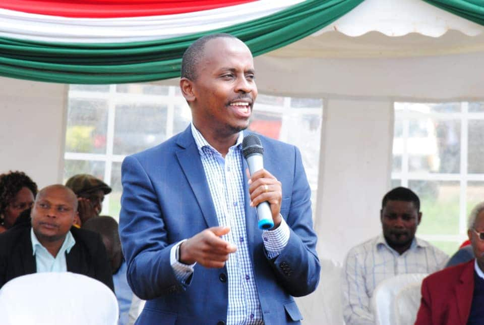 MP John Kiarie under fire from netizens after giving scary statistics on COVID-19
