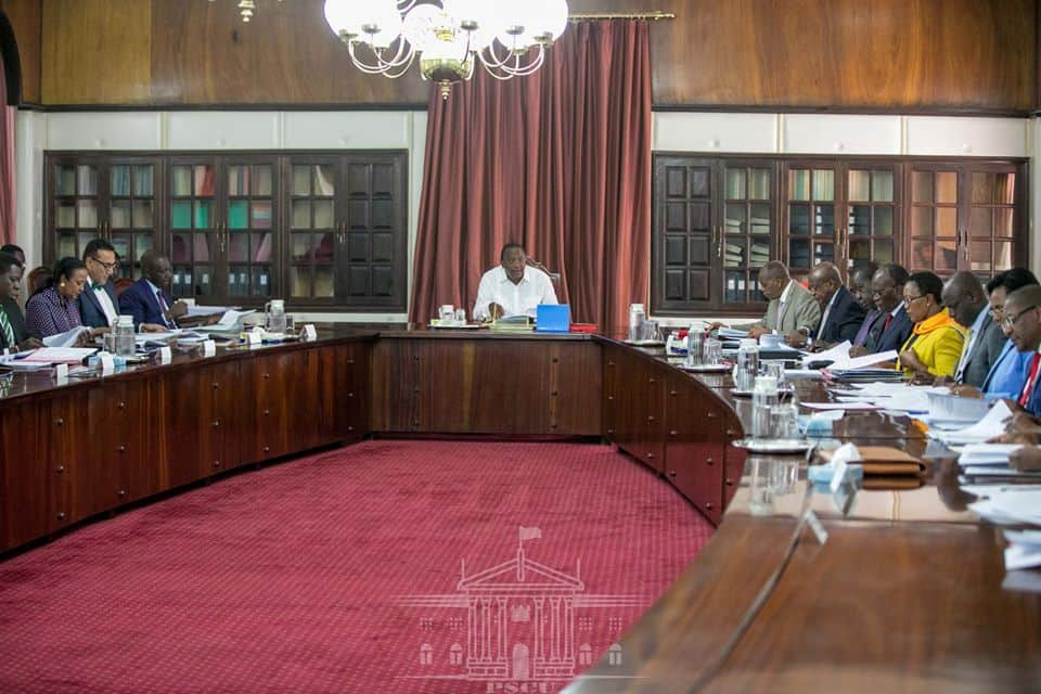State House deletes photos showing Ruto's presence at crucial cabinet meeting