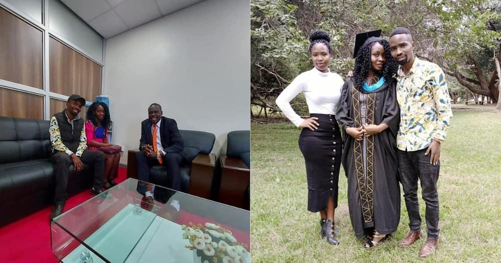 Sylvanus Osoro Celebrates Graduation of Students He Sponsored Through School