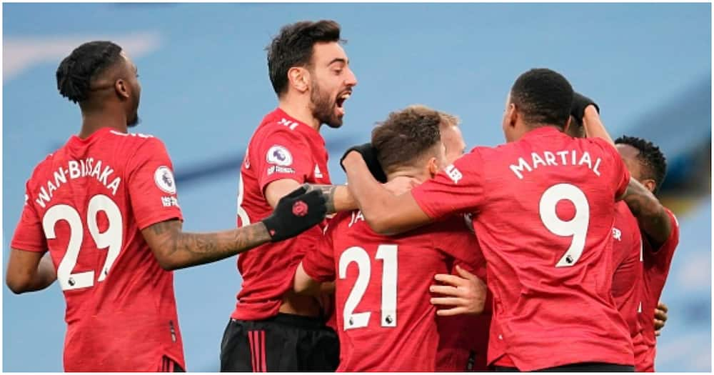 Man United paint Manchester red as Ole's men end City's 21-game unbeaten run