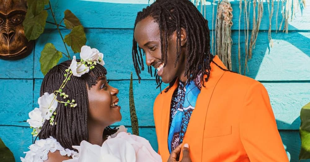 Anne Kansiime Jokingly Gets Flirty With Njugush After Spotting Resemblance Between Him, Her Baby Daddy