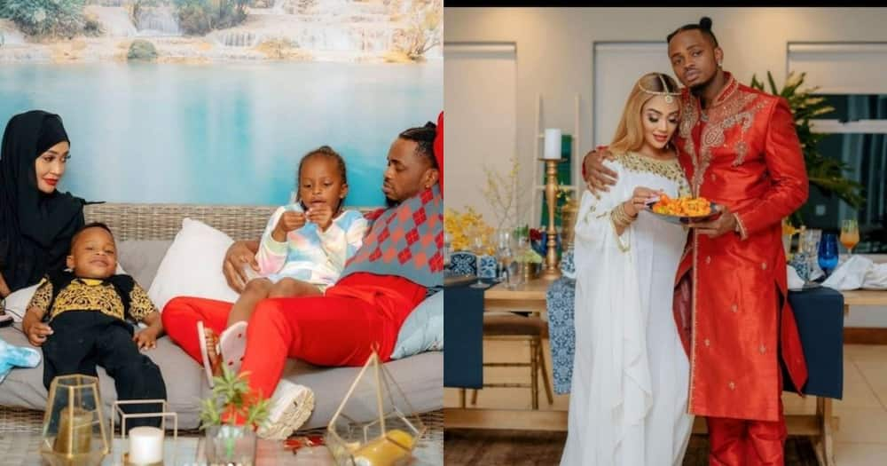 """Zari says there's no problem sleeping in Diamond's house: """"He is my kids' father"""