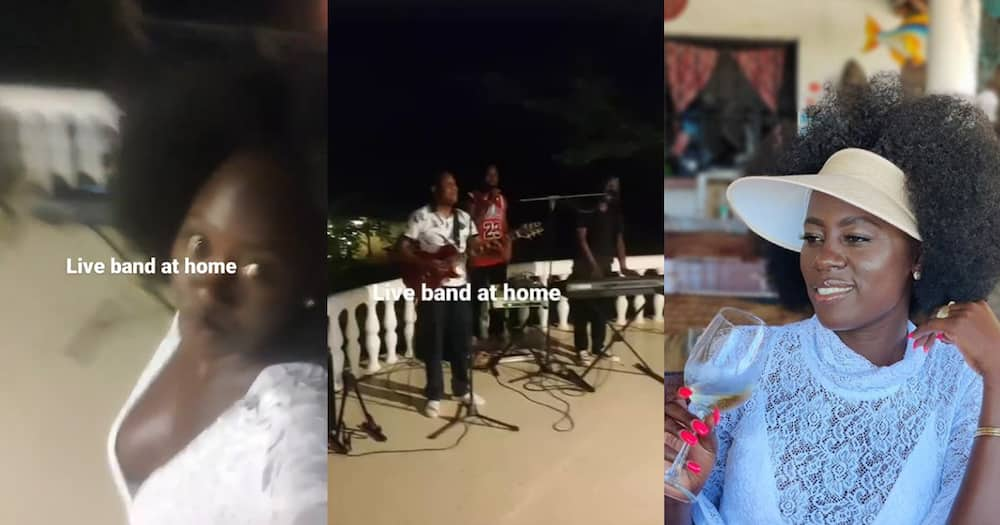 Akothee Hires Live Band to Entertain Her At Home: Pesa Otas