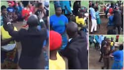 Netizens React to Chaotic Prayer Session after Woman Fights Pastor For Laying Hands on Her
