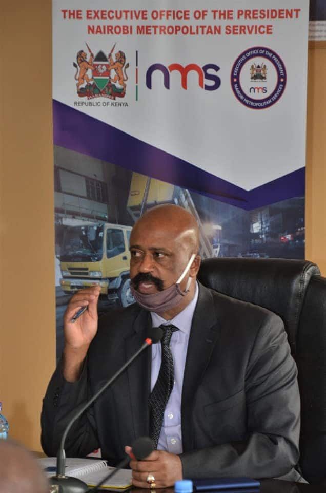 NMS boss General Badi orders repainting of city buildings