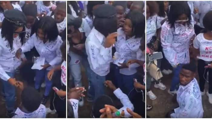 Nigeria: Fresh Graduate Rejects Boyfriend's Proposal in Public, Collects Ring and Throws It Away