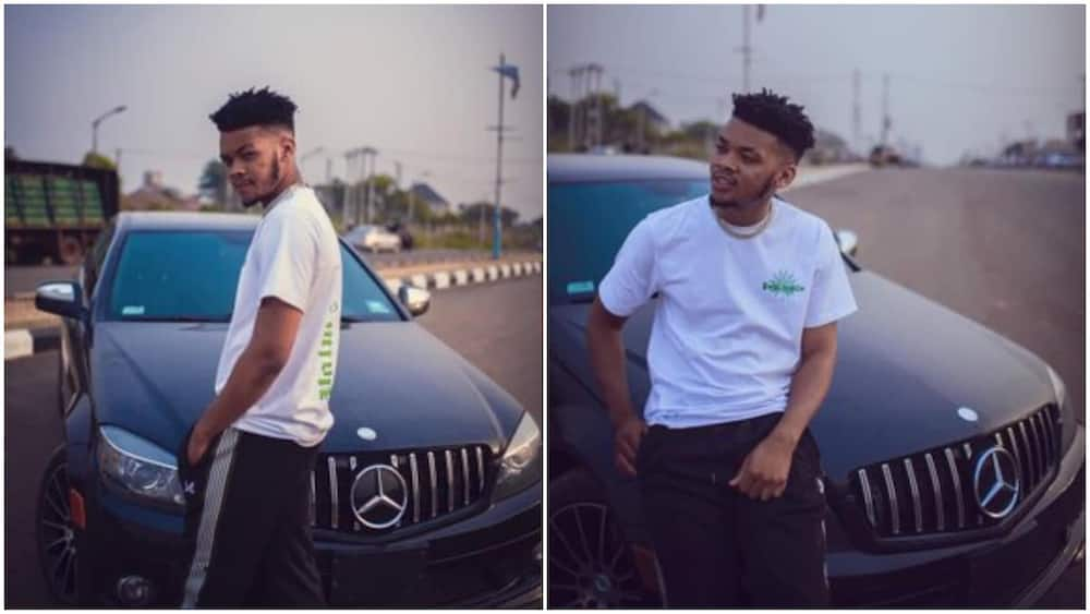 Young man buys first car at 22, Nigerian react, tell him it's not about age