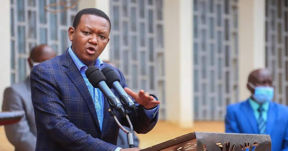 Alfred Mutua Takes Presidential Campaign to Nyeri.