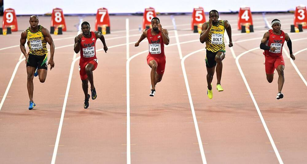 fastest people in the world ranked