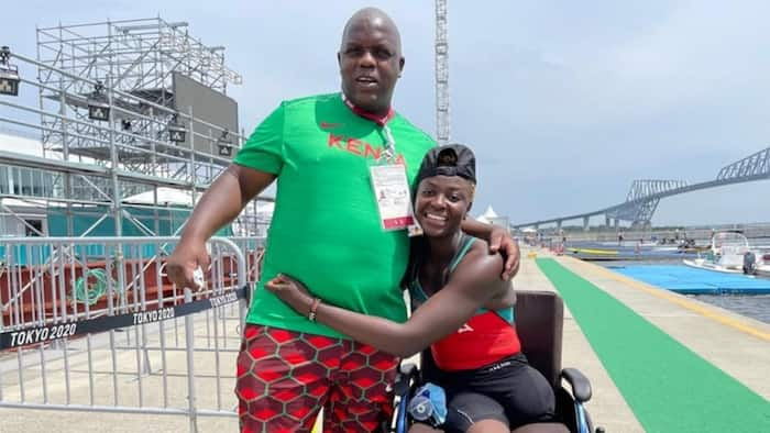 Asiya Sururu: Lady Who Lost Both Legs in Train Accident to Represent Kenya in Tokyo Paralympics