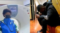 Jose Chameleone's Wife Says Singer is Sick, Bashes Those Sharing Photos of Him in Hospital